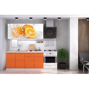Кухня Апельсин 1600мм,1800мм,2000мм