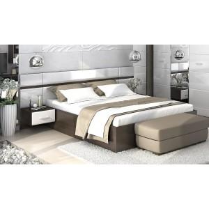 Кровать Вегас с прикроватным блоком