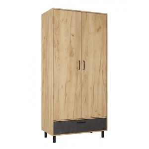 Шкаф 2х створчатый Лофт