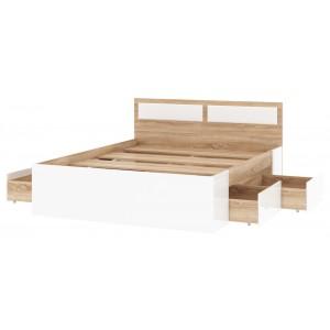 Кровать Беатрис с 4 ящиками 1400мм,1600мм