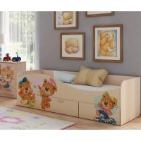 Кровать Мишки
