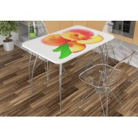 Стол обеденный Персик
