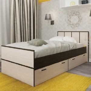 Кровать двуспальная Весна 900мм,1200мм,1400мм,1600
