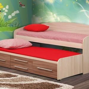 Кровать 2х ярусная выдвижная Адель 5