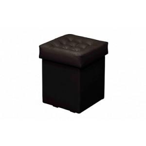 Пуфик черный