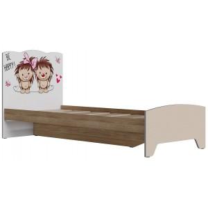 Кровать Ежики