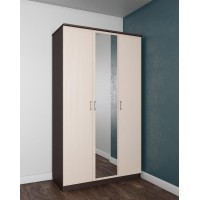 Шкаф 3х створчатый с зеркалом