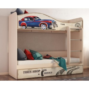 Кровать 2х ярусная Ретро